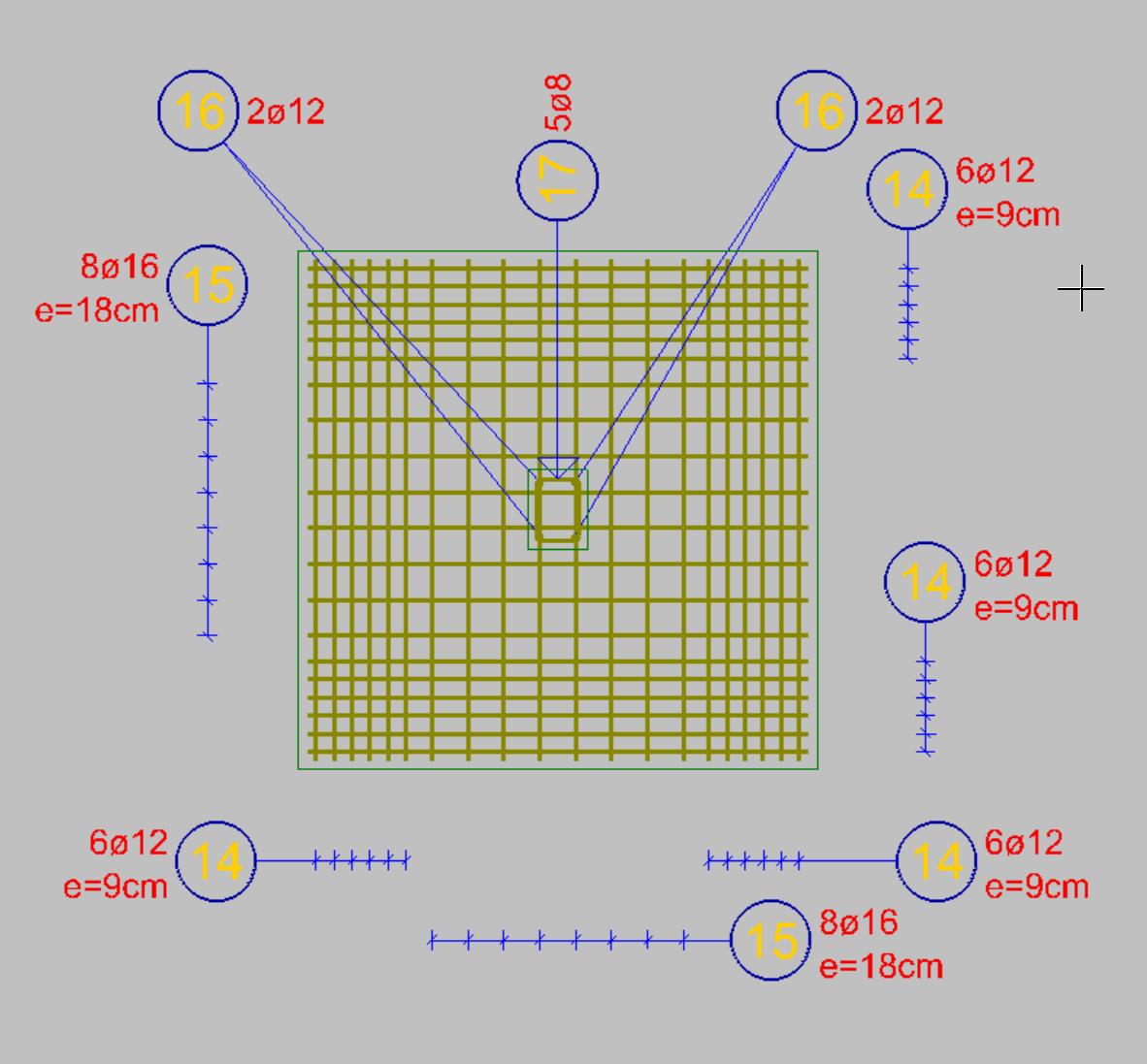 2D Modell – Bewehrung